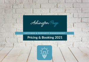 ASHINGTON PAGE LANDLORD ELECTRICAL OBLIGATIONS AND BOOKING FORM 2021